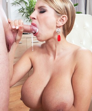 milf takes young cock